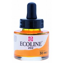 (11252021)Talens Ecoline Liquid Watercolour 30ml 202 Dark Yellow