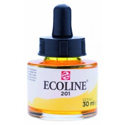 (11252011)Talens Ecoline Liquid Watercolour 30ml 201 Light Yellow