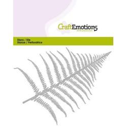 (115633/0354)CraftEmotions Die - fern leaf