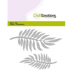 (115633/0355)CraftEmotions Die - tropical leaves