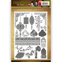 (ADCS10040)Clearstamp - Amy Design Oriental