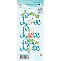 (55.4032)Clear stamp Combi Love