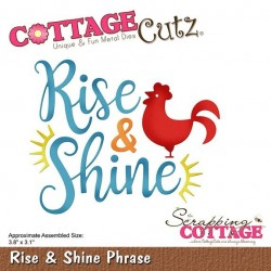 (CC-437)Scrapping Cottage Rise & Shine Phrase