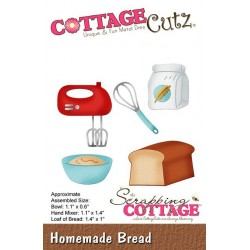 (CC-433)Scrapping Cottage Homemade Bread