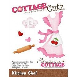 (CC-432)Scrapping Cottage Kitchen Chef