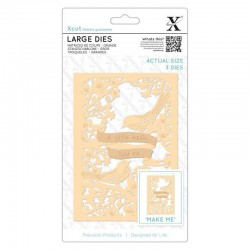 (XCU504095)Xcut Large Dies (3pcs) - A Little Birdie