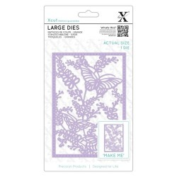 (XCU504097)Xcut Large Dies (1pc) - Meadow Butterflies