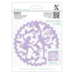 (XCU504093)Xcut Die (2pcs) - Woodland Fairies