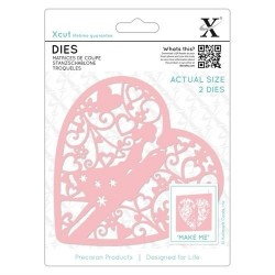 (XCU503087)Xcut Dies (2pcs) - Couple in Heart