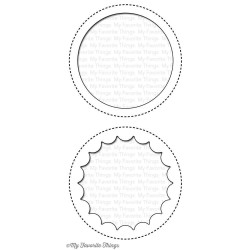 (MFT-719)My Favorite Things Die-namics Jumbo Peek-a-Boo Circle Windows