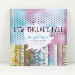 (ACC-CA-30441-88)GROOVI Design Paper Pack 8x8 New England Fall