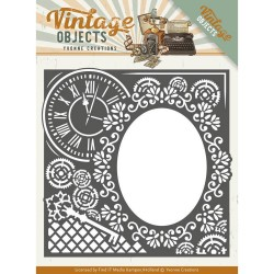 (YCD10132)Dies - Yvonne Creations - Vintage Objects - Endless Times Frame