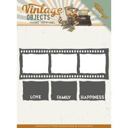 (YCD10133)Dies - Yvonne Creations - Vintage Objects - Film Strip