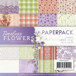 (PMPP10018)Paperpack - Precious Marieke - Timeless Flowers