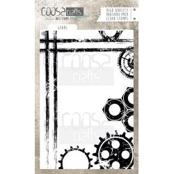 (COC-046)COOSA Crafts clearstamps A6 - Gears