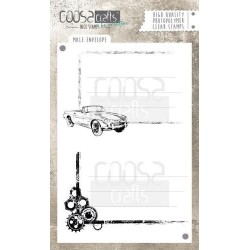 (COC-048)COOSA Crafts clearstamps A6 - Male Envelope