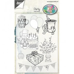 (6410/0480)Clear stamp Party