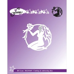 (BLD1069)By Lene Cutting & Embossing Dies The Maiden