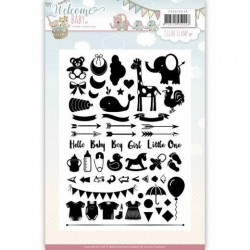 (YCCS10040)Clearstamp - Yvonne Creations - Welcome Baby