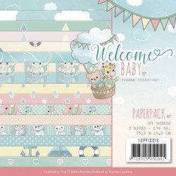 (YCPP10018)Paperpack - Yvonne Creations - Welcome Baby