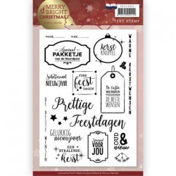 (PMCS10034)Clear Stamp - Precious Marieke - Merry and Bright Christmas - NL