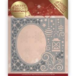 (PM10125)Dies - Precious Marieke - Merry and Bright Christmas - Lantern Frame