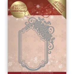 (PM10127)Dies - Precious Marieke - Merry and Bright Christmas - Poinsettia Ornament