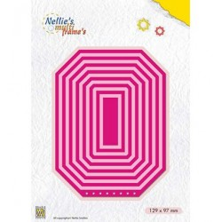 (MFD115)Nellie's Multi Frame Dies Booklet: Rectangle