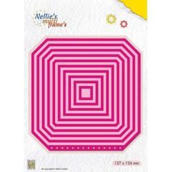 (MFD116)Nellie's Multi Frame Dies Booklet: Square