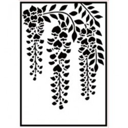 (HSF021)Embossing Folder Wisteria