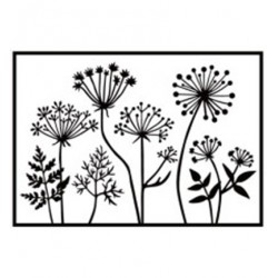 (HSF025)Embossing Folder Dandelions