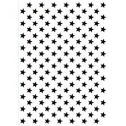(HSFC008)Embossing Folders Christmas Backgrounds: stars