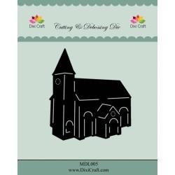 (MDL005)Dixi Craft Church Metal Cutting & Debossing Die