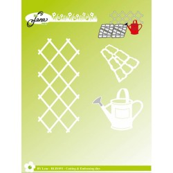 (BLD1091)By Lene Cutting & Embossing Dies Garden Accessories