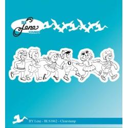 (BLS1062)By Lene Clearstamp Summer Kids