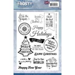 (JACS10019)extstamp - Jeanine's Art - Frosty Ornaments - ENG