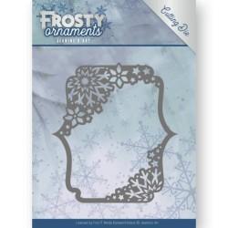 (JAD10042)Dies - Jeanine's Art - Frosty Ornaments - Rectangle Ornament