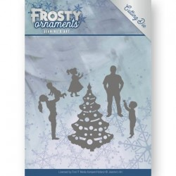 (JAD10047)Dies - Jeanine's Art - Frosty Ornaments - Happy Family
