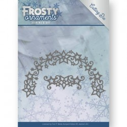 (JAD10048)Dies - Jeanine's Art - Frosty Ornaments - Frosty Wreath