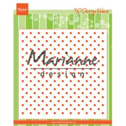 (DF3447)Marianne Design Folder Polka Dots