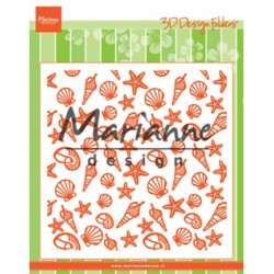 (DF3448)Marianne Design Folder Sea shells