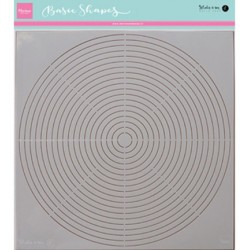 (PS8006)Marianne Design Karin's basic shape: circle