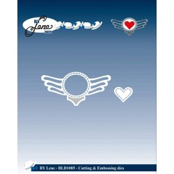 (BLD1085)By Lene Cutting & Embossing Dies Rock Logo