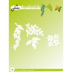 (BLD1090)By Lene Cutting Dies Garden Leaves