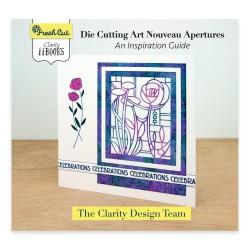 (ACC-BO-30669-XX)CLARITY II BOOK: DIE CUTTING ART NOUVEAU APERTURES GUIDE