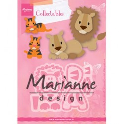 (COL1455)Collectables Eline's lion/tiger