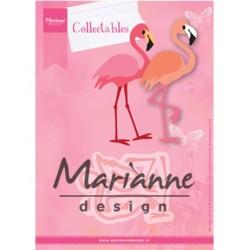 (COL1456)Collectables Eline's flamingo