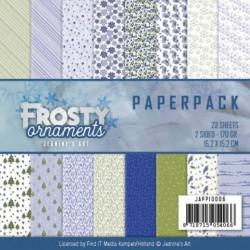 (JAPP10006)Paperpack - Jeanine's Art - Frosty Ornaments