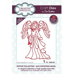 (CED3128)Craft Dies - The Festive Collection - Christmas Angel 2018