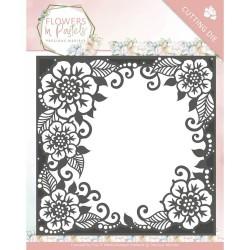 (PM10134)Dies - Precious Marieke - Flowers in Pastels - Floral Frame
